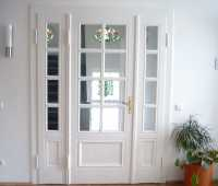 Restaurierte Tür Brandschutz